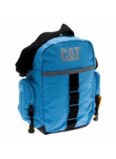 Caterpillar Messenger / Askılı Çanta Mavi